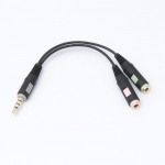✔️ SENNHEISER PCV 05 kabel audio 2xjack 3.5mm->1xjack 3.5mm (4 pin) do PC, laptop, Xbox One, PS4 [504518]